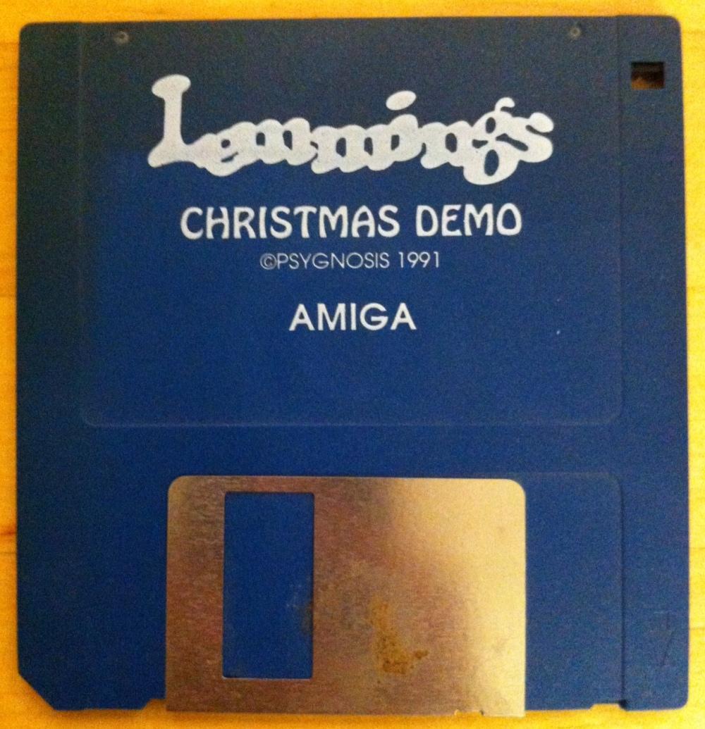 Lemmings_Christmas_Demo,_for_Amiga,_1991